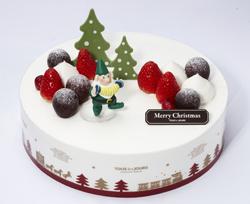 뚜레쥬르의 크리스마스 케이크 '생크림을 사랑한 일곱 번째 난장이' 사진