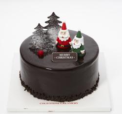 콜드스톤의 크리스마스 케익 '포레스트 산타' 사진