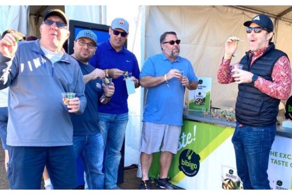 Bibigo' spreads K-Food at the PGA Tour