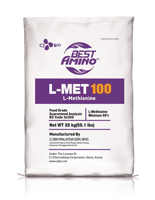 L-Methionine by CJ CheilJedang, the first product in the world to be produced using an eco-friendly method
