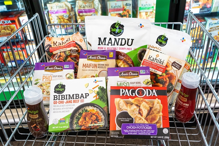CJ CheilJedang's in-house Asian food brands available in the U.S.
